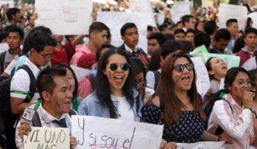 Estudiantes de la BUAP anuncian paro indefinido