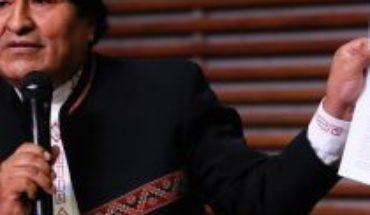 """Evo Morales no podrá ser candidato a senador: """"Esta inhabilitación es un atentado a la democracia"""", señaló el expresidente de Bolivia"""