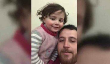 Final feliz: Niña siria y su padre que la hacia reír durante bombardeos fueron acogidos por Turquía