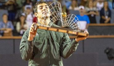 Garin fue oficializado como el número 18 del ranking de la ATP