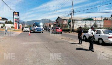 Guardia Nacional detiene a sujetos con armamento, entre éste un fusil Barret, en Uruapan