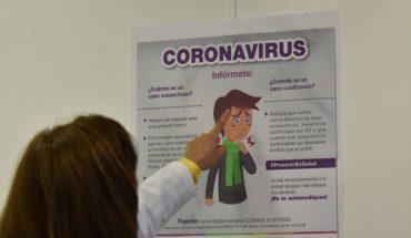 Hospitalizan a una mujer en Oaxaca por síntomas de coronavirus