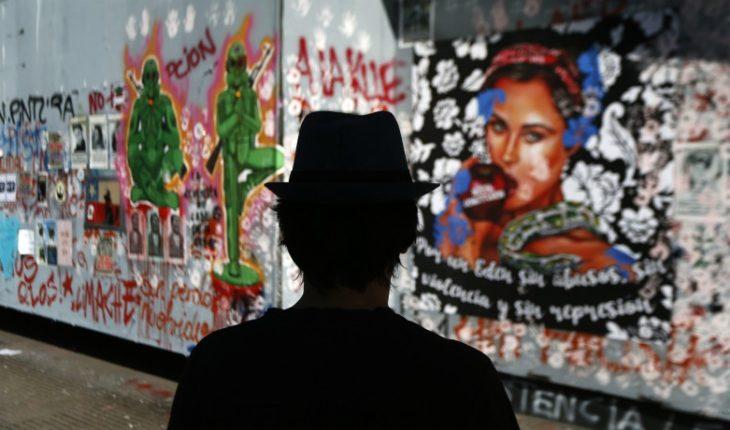 Intendencia destinó $242 millones para pintar muros rayados desde el 18-O