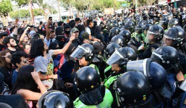 Jóvenes que acudieron a tomar prepa 5 se encontraron con policías