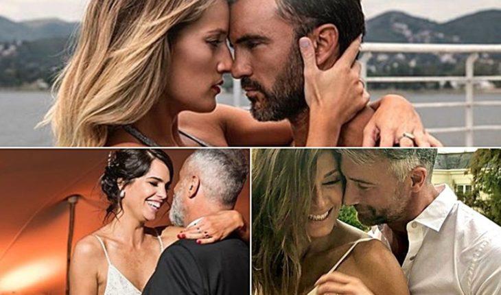 Las postales más románticas de los famosos en el día de los enamorados