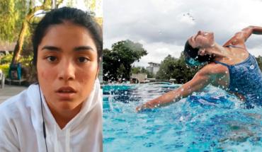 Nadadora Teresa Ixchel acusó de violencia verbal y psicológica entre otras a entrenadora