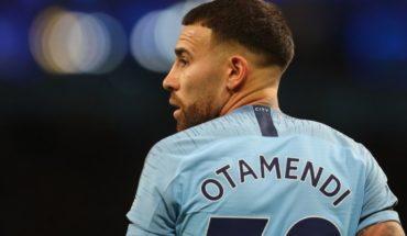 """Nicolas Otamendi y la chance de River: """"Soy hincha, pero estoy bien en mi club"""""""
