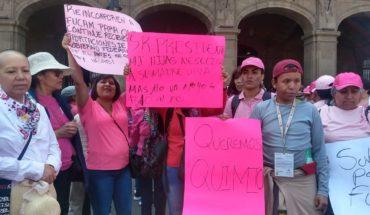 Pacientes de Fucam piden al gobierno federal que reasigne recursos