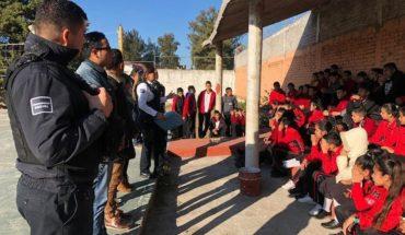 Policía Morelia brinda charlas en instituciones educativas en prevención de conductas delictivas