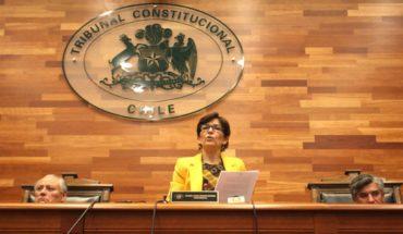 """Presidenta del TC: """" Quiero una Constitución en la que participe la ciudadanía en su confección"""""""