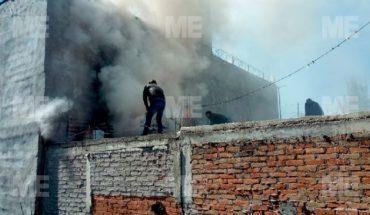 Registran incendio en vivienda de la Ampliación Eduardo Ruiz, Morelia