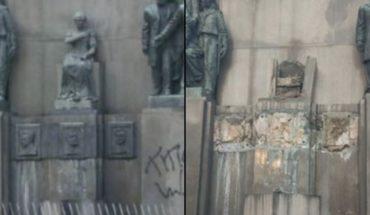 Robaron monumento con los restos del primer presidente de Brasil