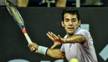 Tenis: Cristian Garin avanzó a cuartos de final en torneo ATP 500 de Río