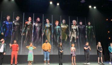 The Eternals tendrá el primer beso LGBTIQ+ del universo de Marvel