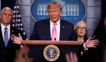 """Trump y el coronavirus: """"el riesgo para los norteamericanos permanece muy bajo"""""""