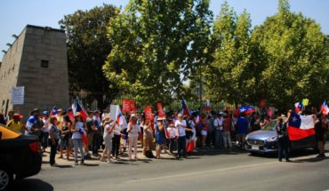 U. de Chile rechaza agresión a estudiantes de Periodismo en manifestación