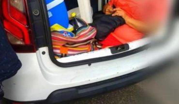 Un turista argentino fue multado en Brasil por llevar a la suegra en el baúl