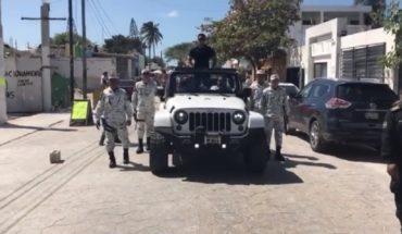 Usan a la Guardia Nacional para escoltar al actor Roberto Palazuelos