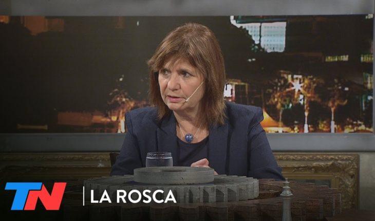 ¿Presos políticos en la Argentina? Particia Bullrich en La ROSCA