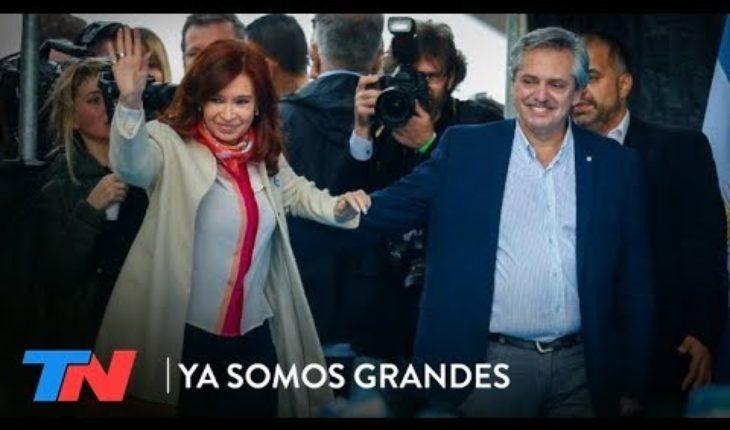 Alberto Fernández y Cristina: interna expuesta   YA SOMOS GRANDES
