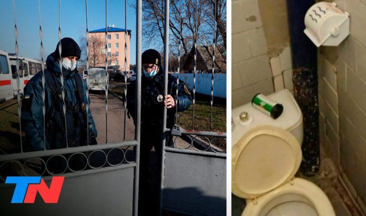 Coronavirus   Argentinos evacuados en Ucrania: entre protestas y pésimas condiciones de aislamiento