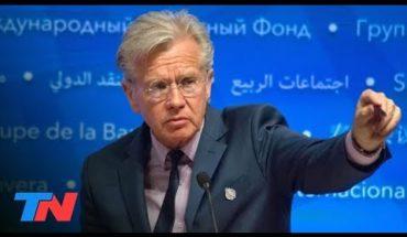 Deuda: el FMI no aceptará una quita