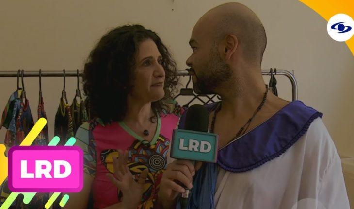 La Red: Carlitos Vargas se fue de carnavalero y visitó a la diseñadora Judy Hazbum