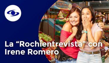 Rochi se le midió al reto periodístico y entrevistó a Irene Romero