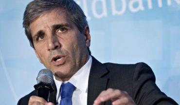 "Volvió ""Toto"" Caputo con elogios a la nueva directora del FMI"