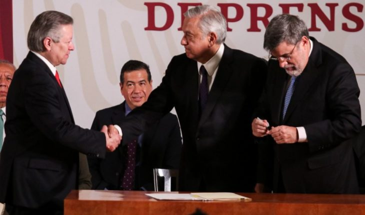 AMLO supports reform of the judiciary that seeks to fight corruption