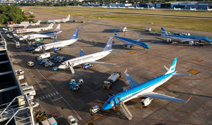 Aeroparque will return to and from Brazil, Paraguay, Chile, Bolivia and Peru