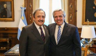 Alberto Fernández received Ricardo Alfonsín, future ambassador to Spain