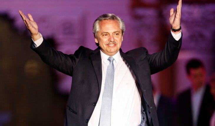 "Alberto Fernandez: ""Now we feel very accompanied by the great European powers"""