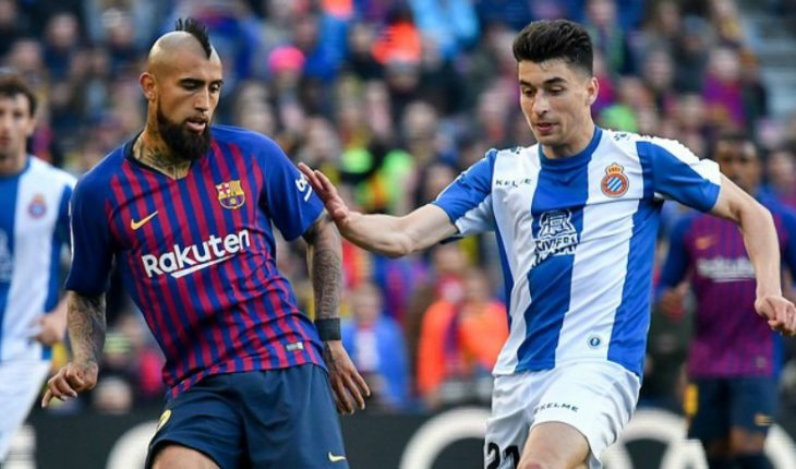 Arturo Vidal would be a starter in Barcelona for today's duel for Copa del Rey