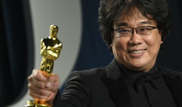 """Bong Joon Ho, director of """"Parasite"""": """"I remember getting excited when Scorsewas won for 'Infiltrates', it's an honor to have been nominated alongside him"""""""