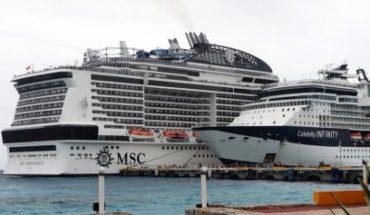 CoVID-19 discards Meraviglia cruise passengers in Quintana Roo
