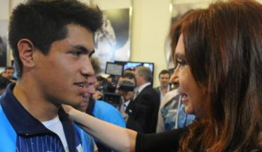 "Cristina Kirchner reminded Braian Toledo: ""Thank you for taking the flag as far as your javelin"""