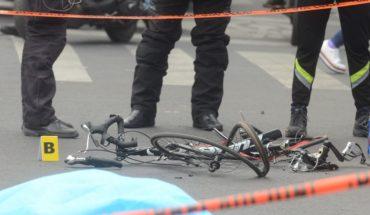 Cyclist dies by military fire in Santa María La Ribera, in CDMX