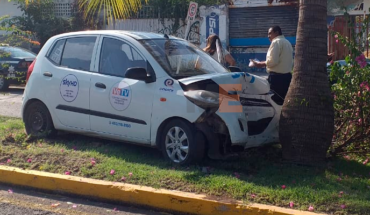 Driver injured in road accident in Apatzingán, Michoacán