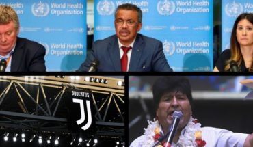 Ecuador with coronavirus, Italy suspended the classic, Alberto Fernandez supported Evo Morales, Pampita vs Nanny and more...