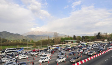 End of holiday: 300 thousand vehicles will return to Santiago