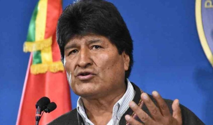 """Evo Morales: """"they want to prosecute me and disqualify me as a candidate"""""""