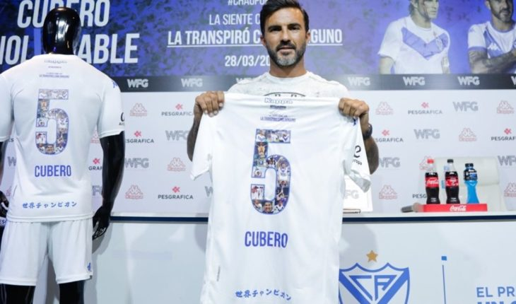 Fabián Cubero presented his farewell match at Vélez Stadium