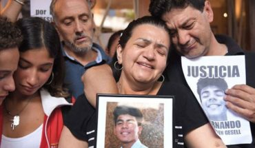 """Fernando's mother on the rugbiers: """"They should give him pre-trial detention to the ten"""""""