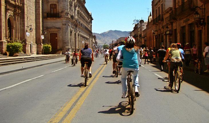 Ciclovía en Morelia