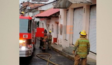 Gas tank explodes and causes fire in a house in Uruapan, Michoacán