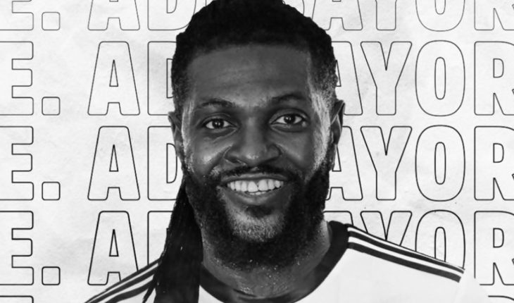 Madness in Olympia: Emmanuel Adebayor arrived and there are 15,000 new partners