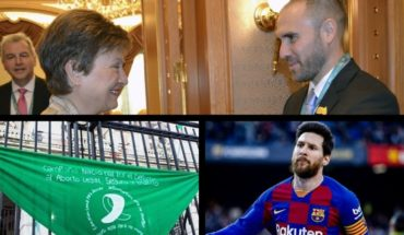 """Meeting between Argentina and IMF, Legal abortion """"imminent"""", Messi's 4 goals, Measles alert and more..."""