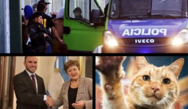 More audio from the rugbiers; how negotiations with the IMF continue; International Cat Day; another controversy at Barcelona and more...