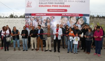 Morelia City Council opens Drinking Water Network